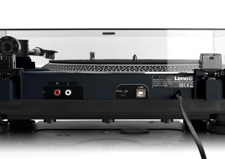 Lenco L-400 - Tocadiscos (Tocadiscos de tracción Directa, Manual ...