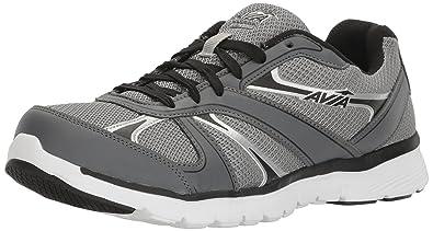 Avia Men's Avi-Modus Running Sneaker,Frost Grey/Iron Grey/Black/