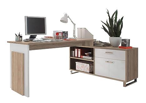 Avanti trendstore malmo scrivania ad angolo in legno