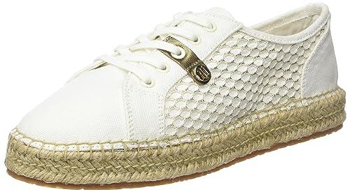 Tommy Hilfiger S1285ammy 6d1, Alpargatas para Mujer, Blanco (Whisper White 016), 40 EU: Amazon.es: Zapatos y complementos