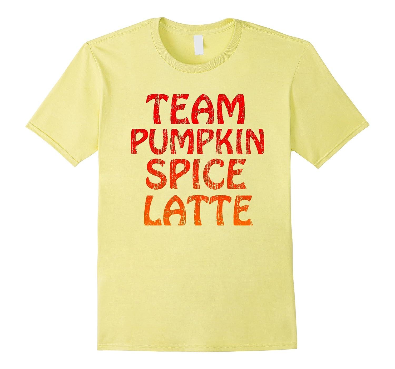 8a58ea072 Halloween Pumpkin Spice Latte Fall Coffee Thanksgiving Shirt-RT ...