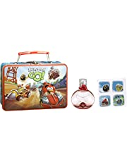 Angry Birds Rovio Metallic Case Angry Birds Go! EDT and Button Stickers, 50ml