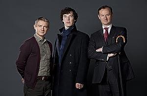 """Sherlock Holmes UK Imported 17"""" X 11"""" Sherlock, Watson, and Mycroft Poster Print"""