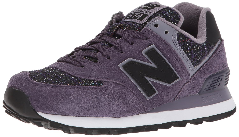New Balance 574, Zapatillas Deportivas Mujer, 37.5 EU|Rojo (Elderberry)