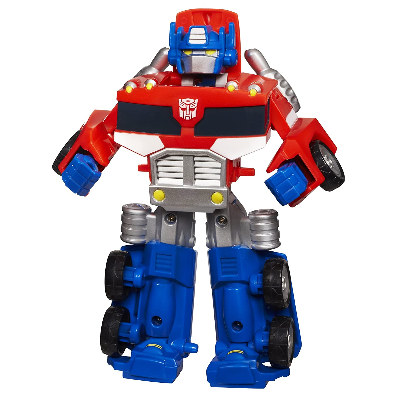 amazon com transformers rescue bots playskool heroes optimus