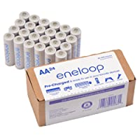 Deals on 24-Pack Panasonic eneloop AA 2100 Cycle Rechargeable Batteries