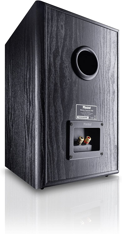 Magnat Monitor Supreme 202 - Altavoces de estantería (Hi-Fi, 93 dB, 100 W RMS), Color Negro: Amazon.es: Electrónica