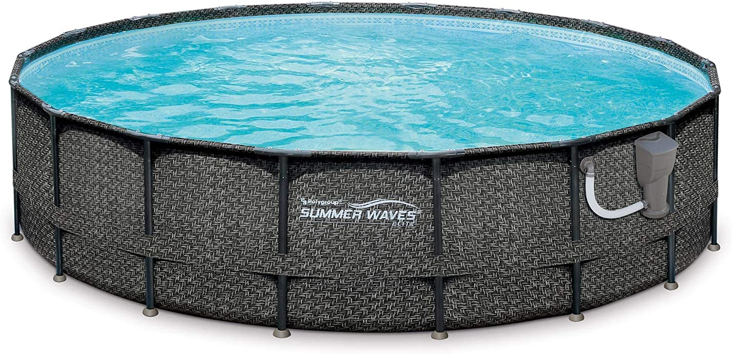 Summer Waves: Elite Wicker Pool Set Review 2021