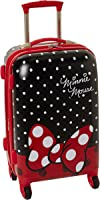 American Tourister Disney Minnie Mouse Red Bow Hardside Spinner 21