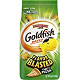 Goldfish Flavor Blasted Cheesy Pizza Crackers, Snack Crackers, 6.6 oz bag