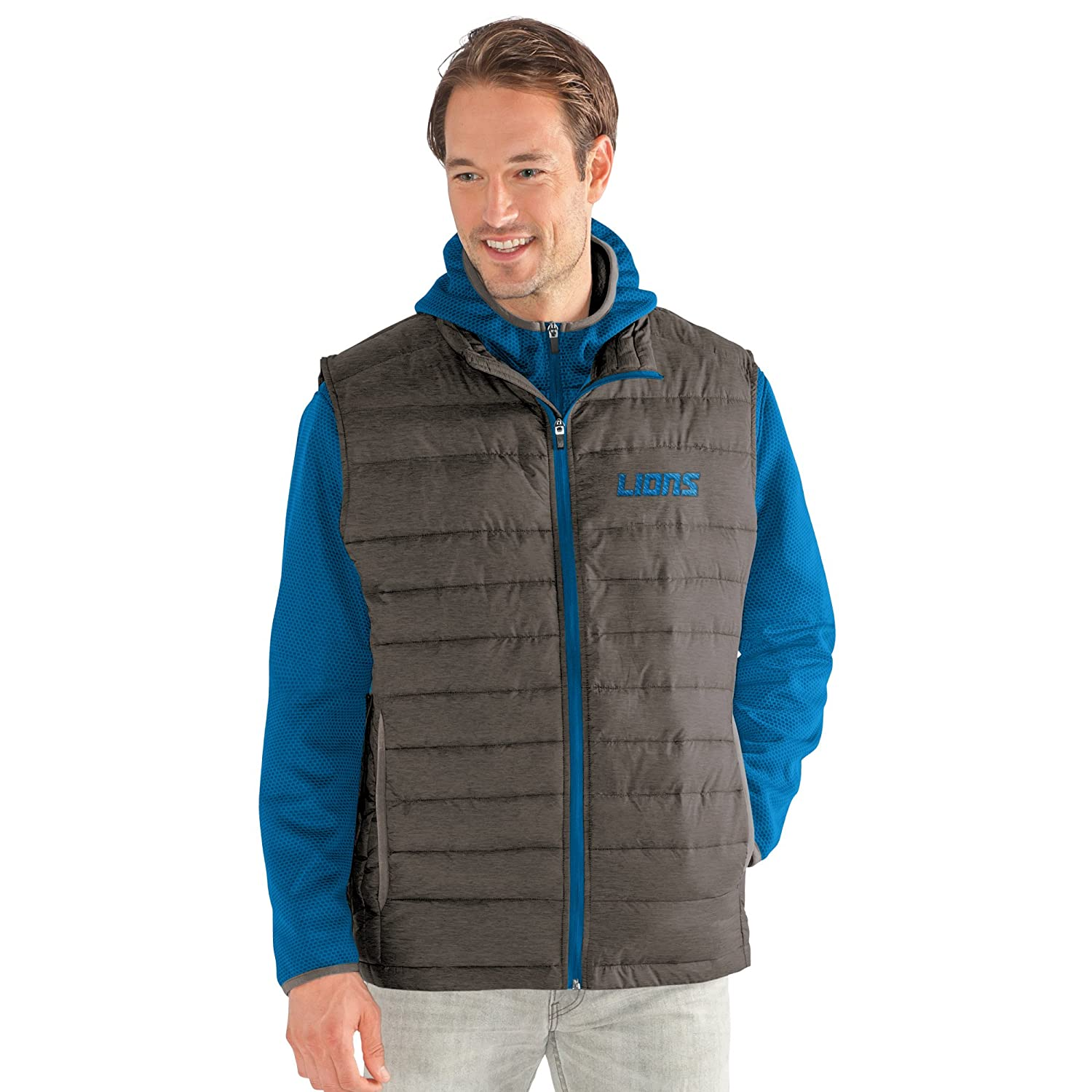 Large G-III Mens Cold Front 3-in-1 Systems Jacket Royal//Gray