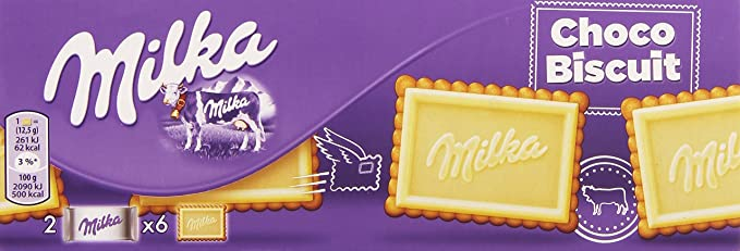 Milka - Galleta Chocolate Blanco, 150 g