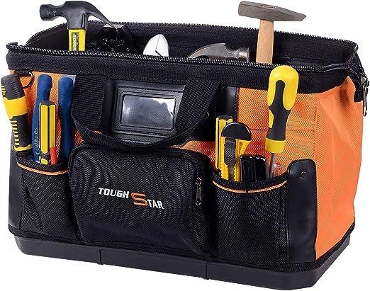 Amazon.com: Bolsa de herramientas de 16 pulgadas con 16 ...