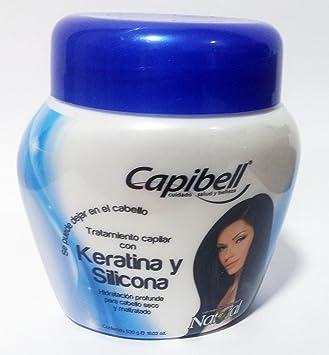 Capibell Keratina Y Silicona Tratamiento Capilar 530 G
