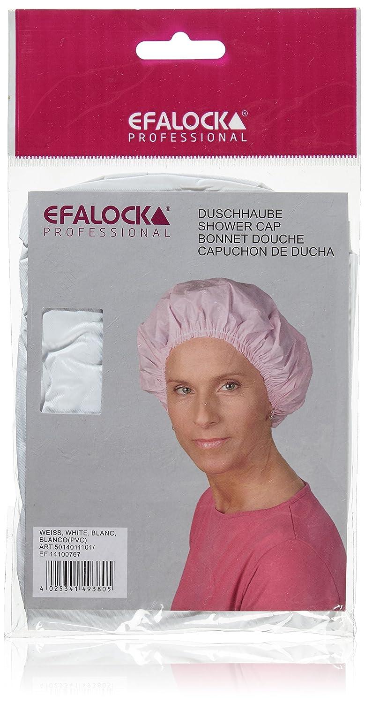 Efalock - Cuffia da doccia, colore: Bianco Efalock Italy 12172