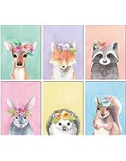 L U0026 O Goods Woodland Animals Nursery Décor | Baby Boy U0026 Girl Wall Art  Watercolor
