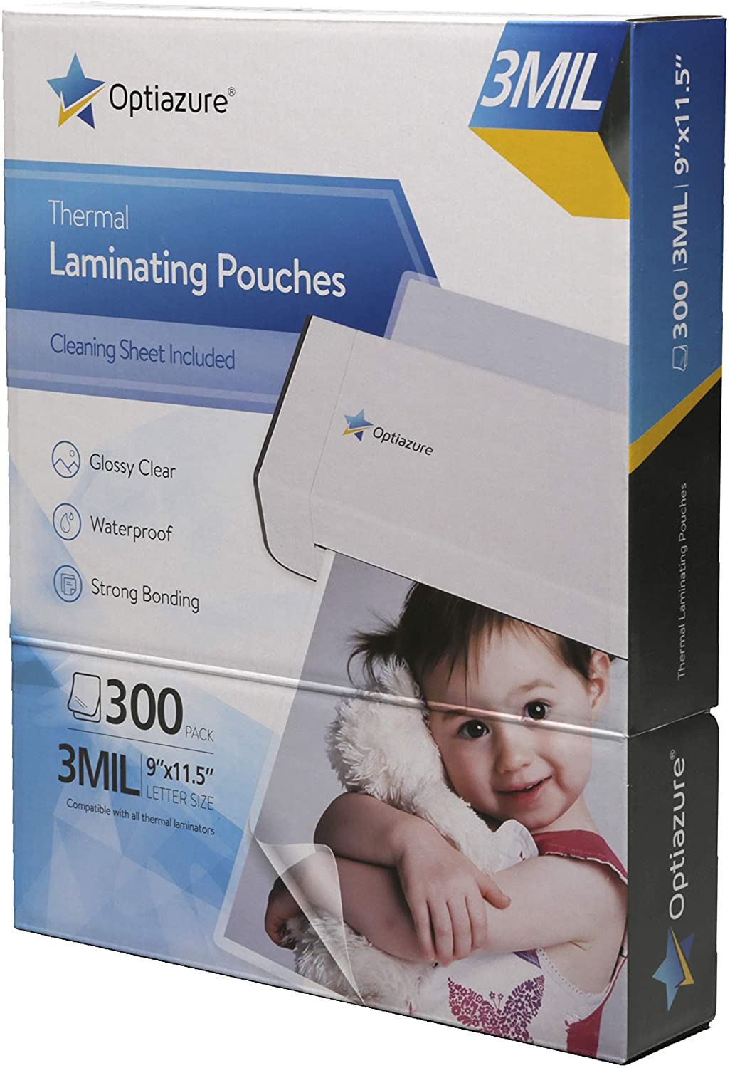 Optiazure Thermal Laminating Pouches 9