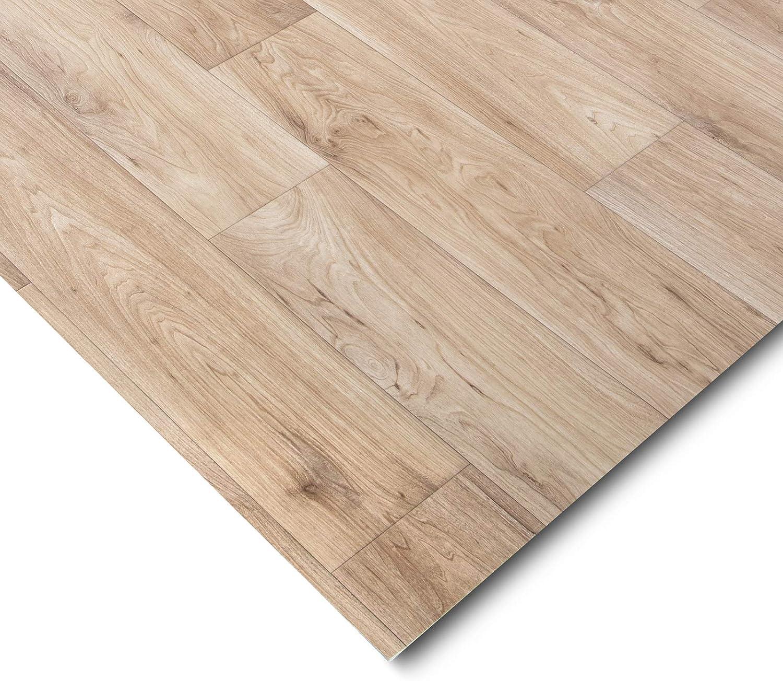 gesch/äumt casa pura/® CV Bodenbelag Antique Oak extra abriebfester PVC Bodenbelag 100x300 cm - Eiche Antik edle Holzoptik Meterware Oberfl/äche strukturiert