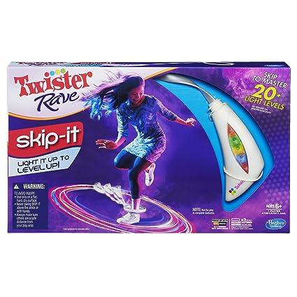 Amazon.com: Twister Rave skip-it Juego, Color blanco: Toys ...