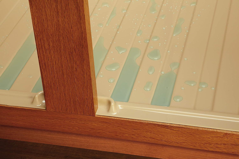 Rev-A-Shelf Medium Silver Sink Base Drip Tray SBDT-3336-S-1