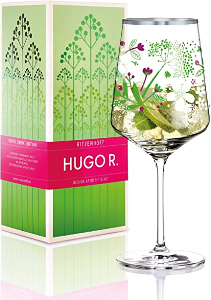 Design Printemps 2014 Verre dans Bo/îte Cadeau Verre /À Ap/éritif RITZENHOFF Hugo R 600 ML 2930011 Carolyn Gavin
