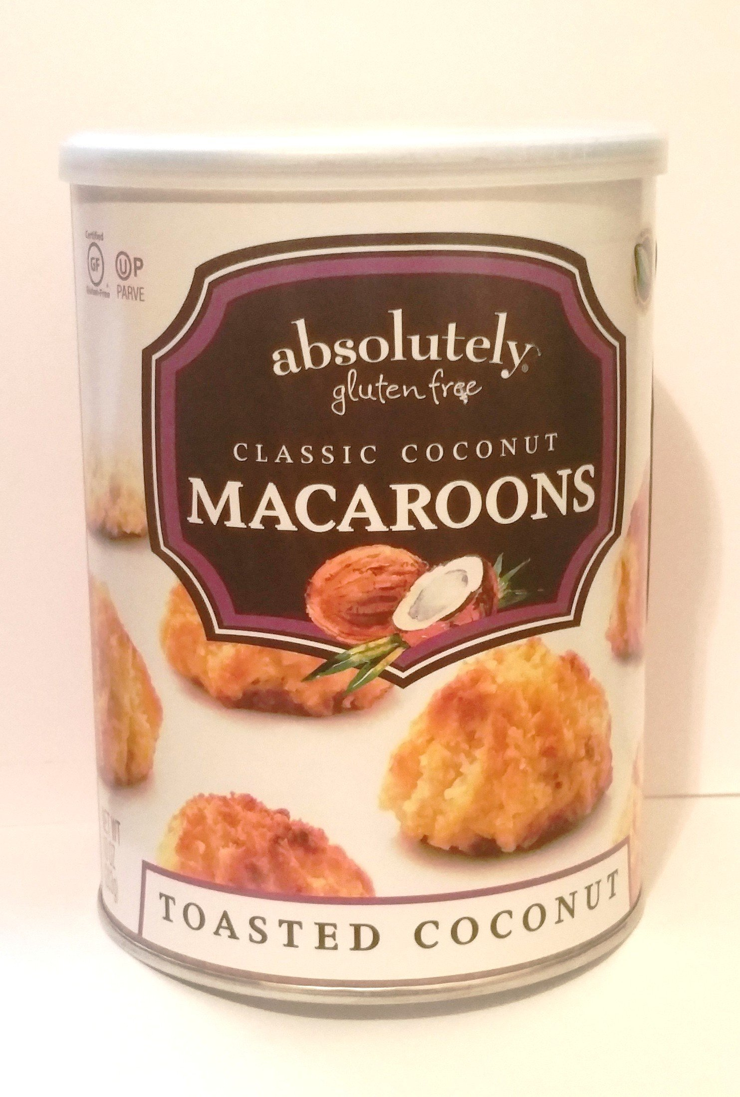 Absolutely Gluten Free Classic Toasted Coconut Macaroons Kosher For Passover 10 oz.