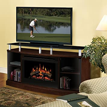Amazon.com: Dimplex Windham Electric Fireplace Indoor Transitional ...