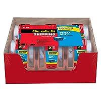 Deals on Scotch Heavy Duty Shipping Packaging Tape 6 Rolls (142-6)