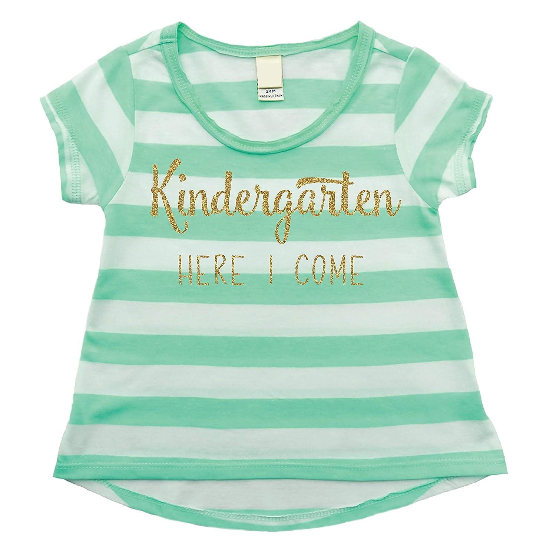 1st Day of Kindergarten Shirt Girls Kindergarten T-shirt 4T