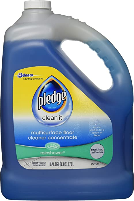 Pledge FloorCare Multi Surface Concentrated Cleaner, 128 OZ