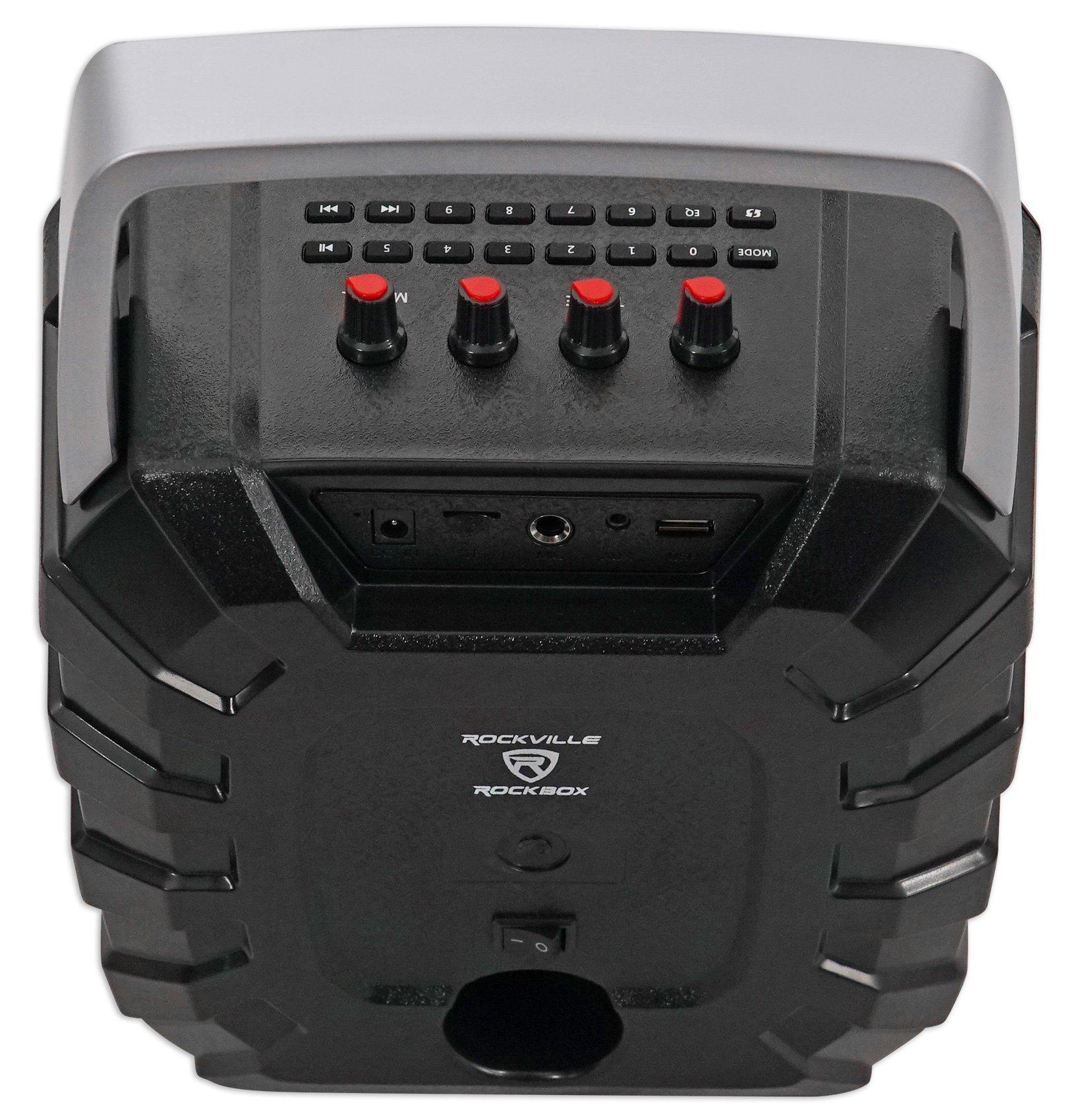 Rockville ROCKBOX 6.5'' 100 Watt Portable Rechargable Bluetooth Speaker w USB/SD by Rockville (Image #5)