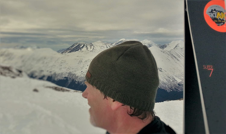 16b2406f95c Amazon.com  CacheAlaska Beanie Black Knit Ski Hat - Wool Blend - Men or  Women - Designed  Clothing