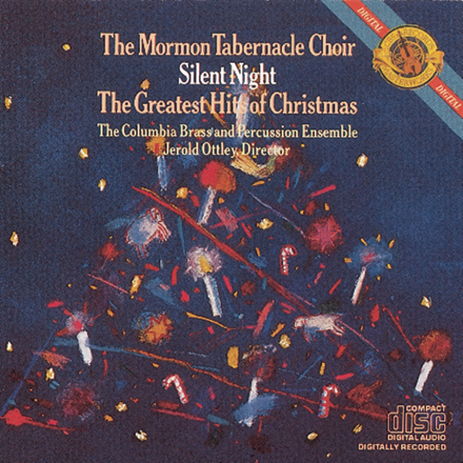 mormon tabernacle choir jerold ottley columbia brass percussion ensemble the mormon tabernacle choir silent night the greatest hits of christmas