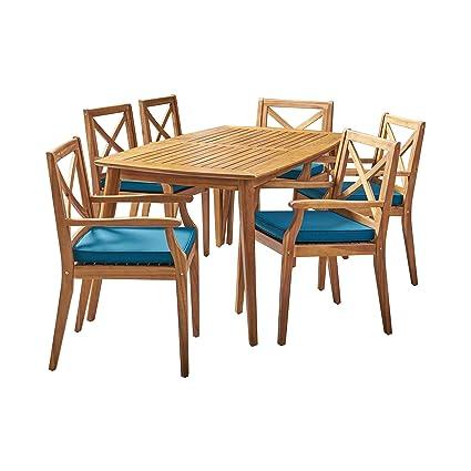 Amazon.com: Great Deal Furniture Harvey - Juego de comedor ...