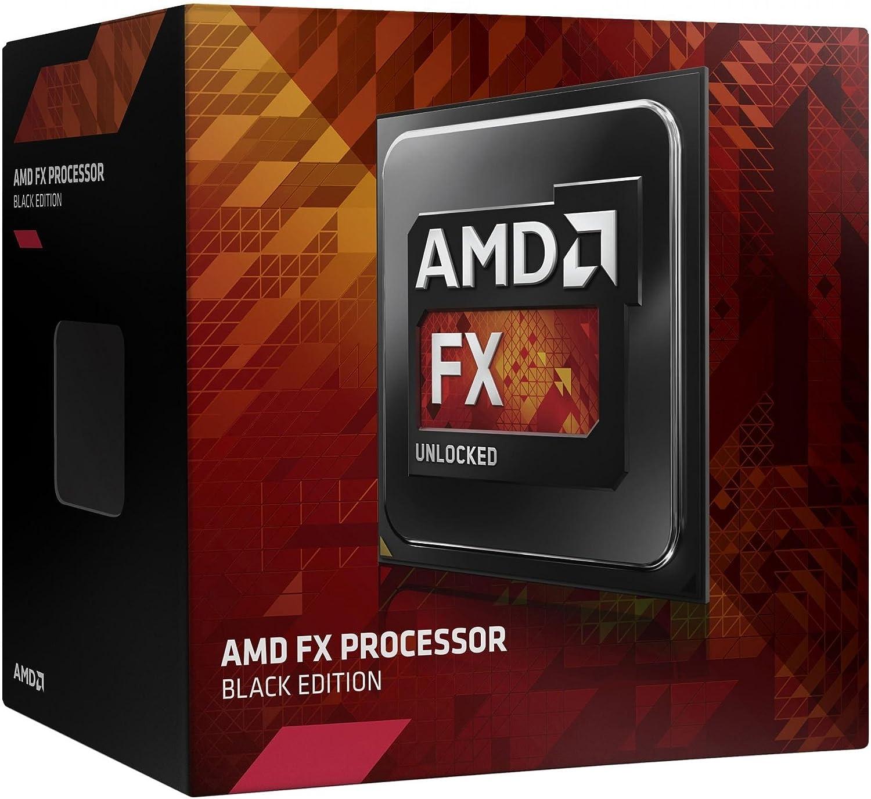 AMD FX 8320E CPU 8/Core, AM3/+, Uhr 3,2/GHz, Turbo 4/GHz, 8/MB L3/Cache, 95/W