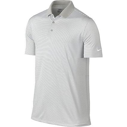 6ff4776ea1 Nike Golf Men's Victory Mini Stripe Polo, Pewter Grey/White/White, 2X-Large:  Amazon.in: Sports, Fitness & Outdoors