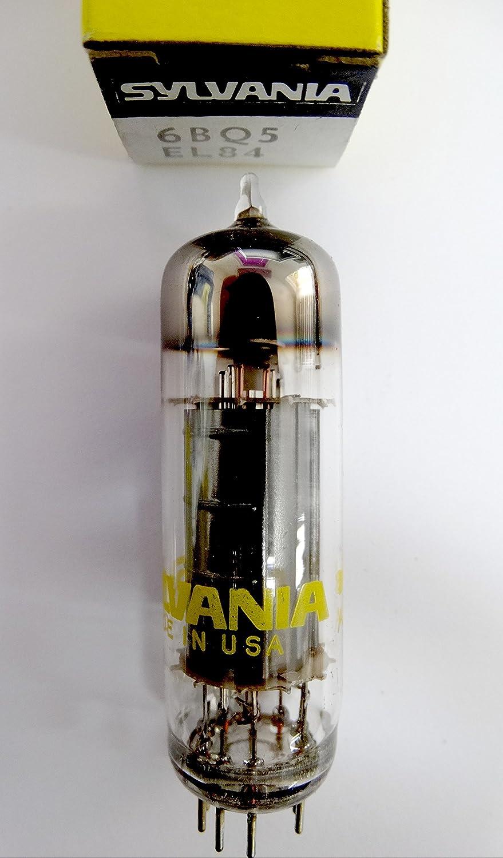6BQ5 - EL84 Tube Electronique Vintage - Made in USA Sylvania