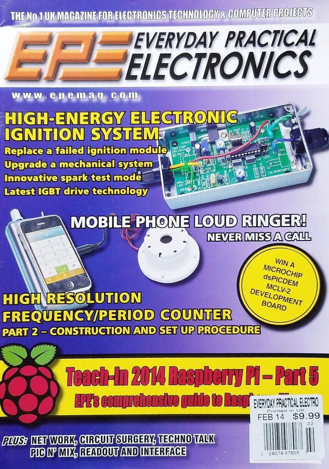 EPE EVERYDAY PRACTICAL ELECTRONICS, FEBRUARY 2014 PRINTED IN UK^