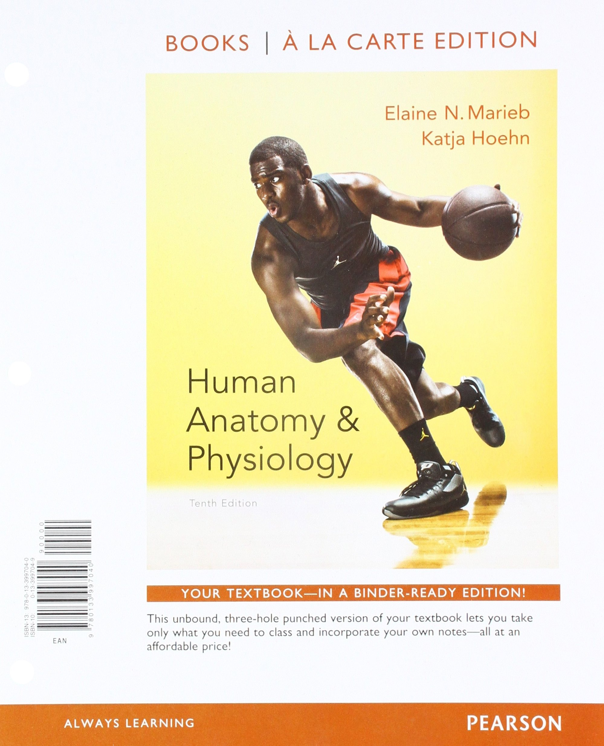 Human Anatomy & Physiology, Books a la Carte Edition and Modified Mastering  A&P with Pearson eText & ValuePack Access Card 10th Edition: Amazon.ca:  Elaine ...
