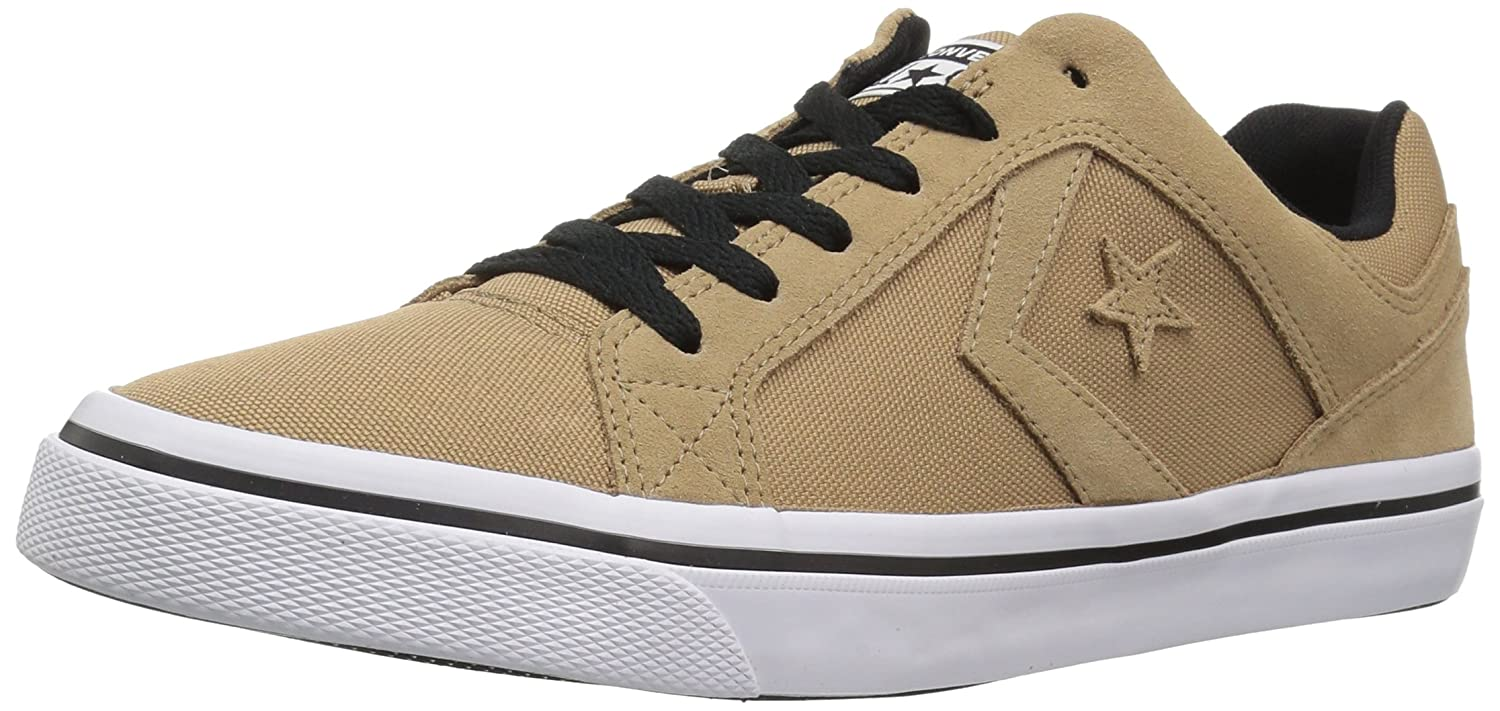 Converse El Distrito Canvas Low Top Sneaker B07CR82MWQ 6.5 M US|Teak/White/Black