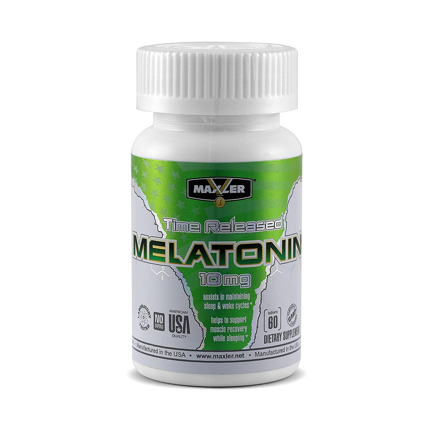 Amazon.com: Melatonin 10mg | Premium Time-Release Sleep & Recovery Formula (60 Tablets): Health & Personal Care