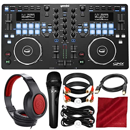 Amazon.com: Gemini GMX Series Professional Audio DJ Media ...