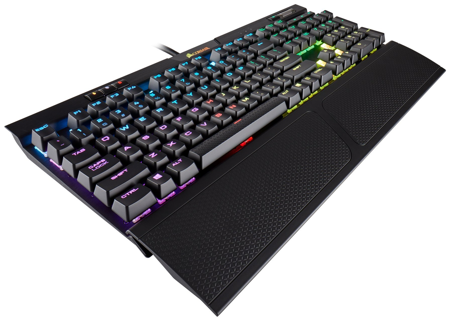 Teclado Mecanico : CORSAIR K70 RGB MK.2 Cherry MX Red