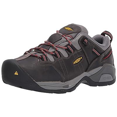 KEEN Utility (KEECS) Men's Detroit XT Low Steel Toe Metatarsal Guard Work Shoe Construction Boot, Grey/Bossa Nova, 13 Medium US | Industrial & Construction Boots