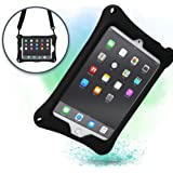 Apple iPad Mini case with Stand, Shoulder Strap, Hand Strap | COOPER BOUNCE STRAP Shock Proof Silicone iPad Mini 4 case, iPad Mini 3 case, iPad Mini 2 case | Easy Clean, Multi-Functional cover (Black)