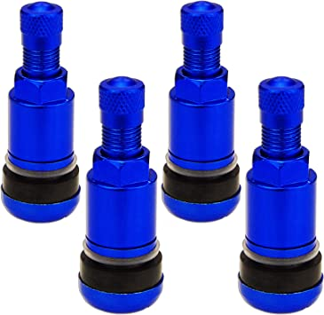 4 St Metallventil X1 Series Blue Edition Pkw 11 3mm Ventil Blau Alu Felgen Set Auto