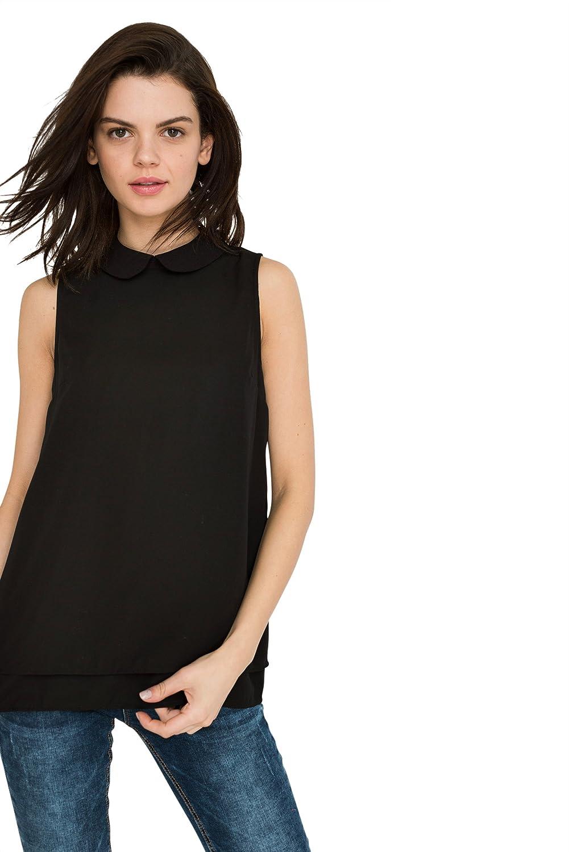 aa624ad4f80 Top 10 wholesale Sleeveless Peter Pan Collar Shirt - Chinabrands.com