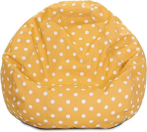 Cheap Majestic Home Goods Ikat dot Large Classic Bean Bag Chair bean bag chair for sale