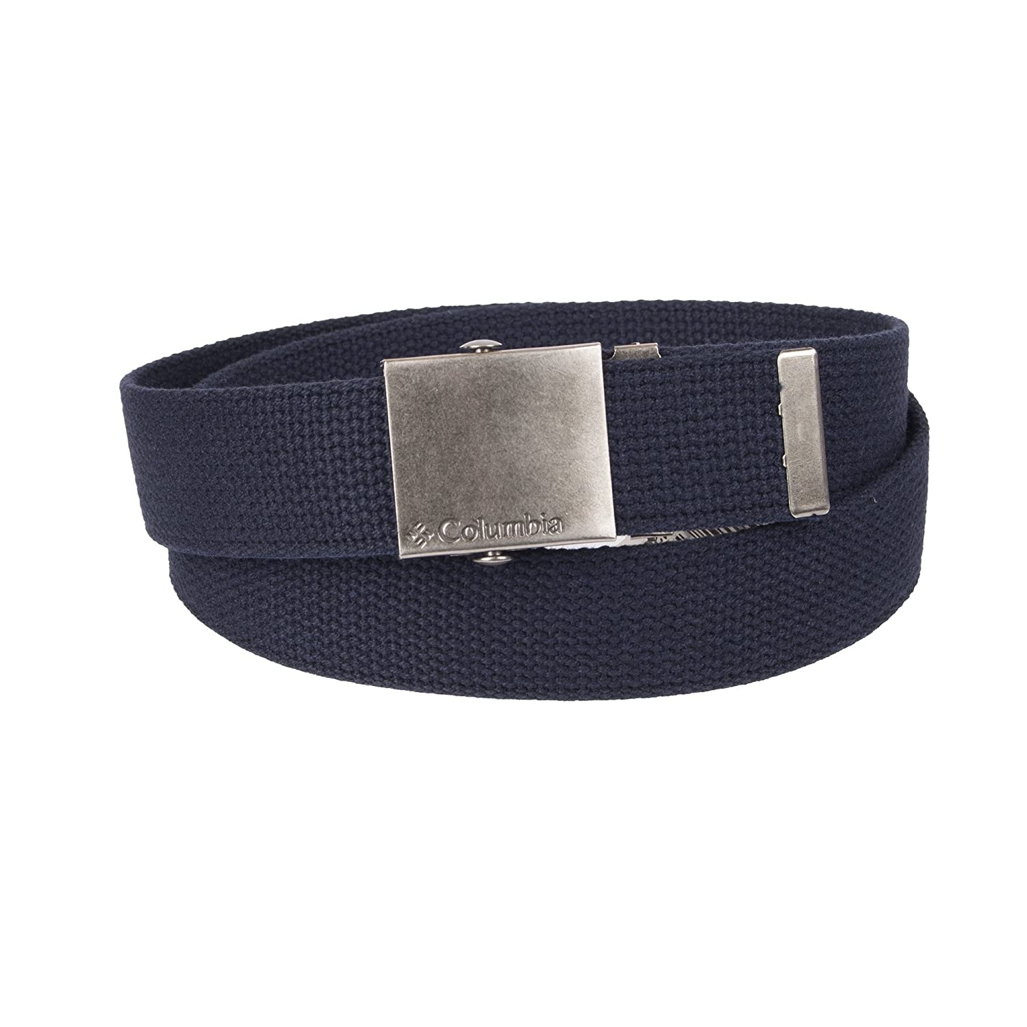 Columbia Boys' Big 1 Wide Fabric Plaque Web Belt 12CO030001