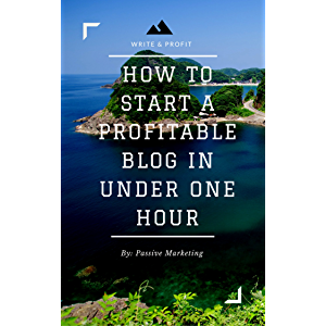 How To Start A Profitable Authority Blog In Under One Hour: Write About What You Love, Create A Website, And Make Money